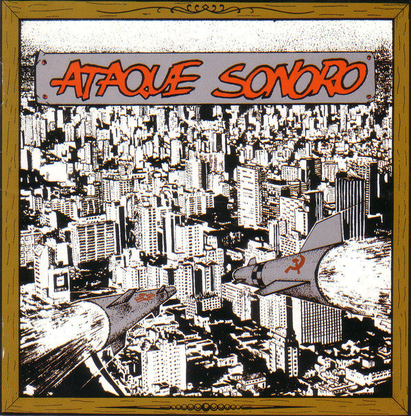 Various - Ataque Sonoro (CD, Comp, RE) - USED
