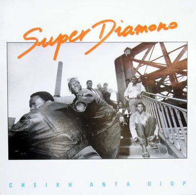 Super Diamono* - Cheikh Anta Diop (LP, Album) - USED