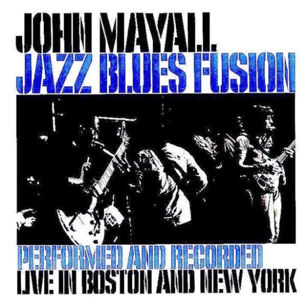 John Mayall - Jazz Blues Fusion (CD, Album, RE) - USED