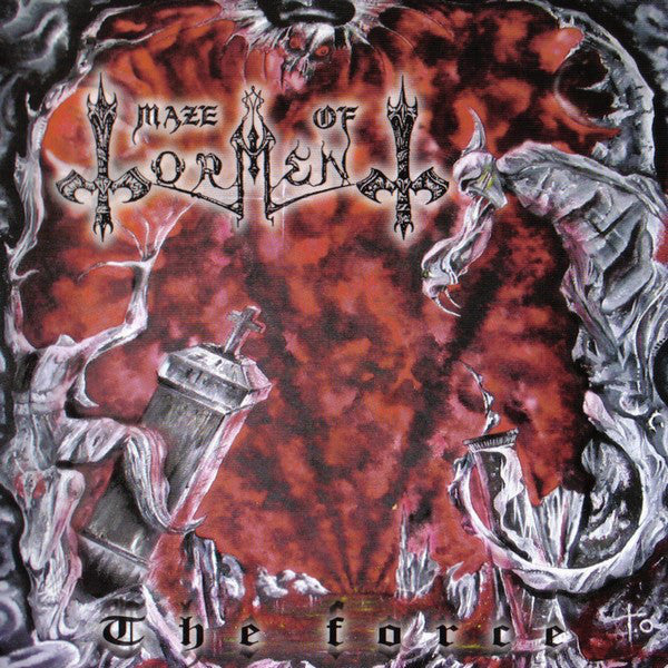 Maze Of Torment - The Force (CD, Album, RE) - USED