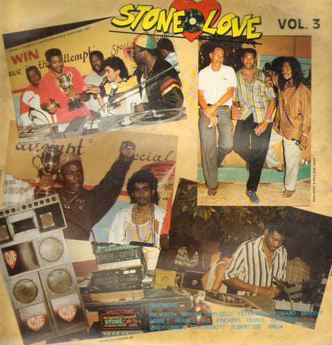 Stone Love* - Stone Love Vol. 3 (LP, Comp) - USED