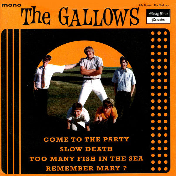 "The Gallows* - Come To The Party (7"", EP, Comp, Mono) - USED"