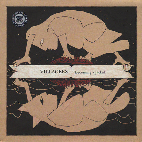 Villagers (3) - Becoming A Jackal (LP + LP, S/Sided, Etch + Album) - USED