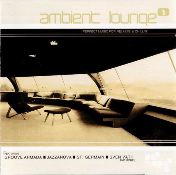 Various - Ambient Lounge 1 (2xCD, Comp, Mixed) - USED