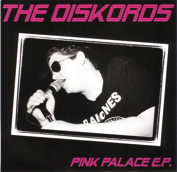 "The Diskords - Pink Palace (7"", EP) - USED"