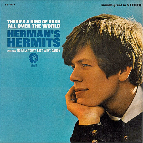 Herman's Hermits - There's A Kind Of Hush All Over The World (LP, Album) - USED