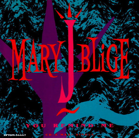 Mary J. Blige - You Remind Me (CD, Maxi) - USED