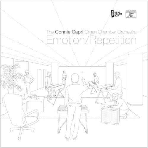 The Connie Capri Organ Chamber Orchestra - Emotion/Repetition (LP) - USED