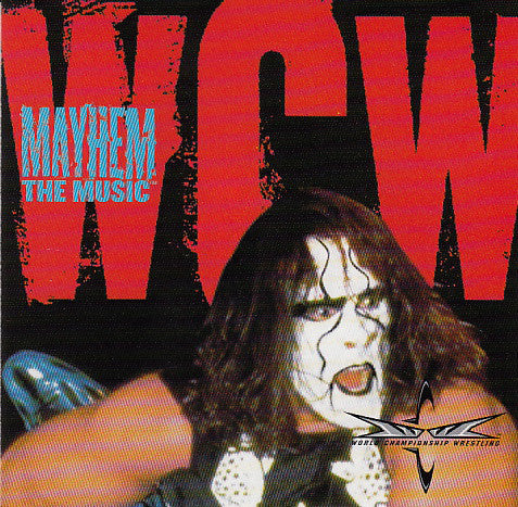 Various - WCW Mayhem: The Music (CD, Comp) - USED
