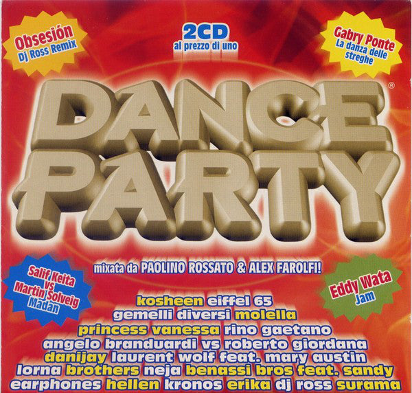Various - Dance Party Winter 2004 (2xCD, Comp, Mixed) - USED