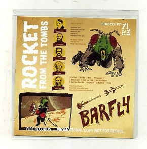 Rocket From The Tombs - Barfly (CD, Album, Promo) - NEW