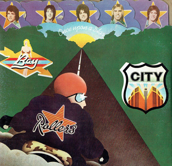 Bay City Rollers - Once Upon A Star (LP, Album, Gim) - USED