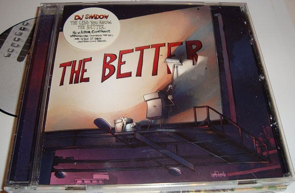 DJ Shadow - The Less You Know, The Better (CD, Album) - NEW