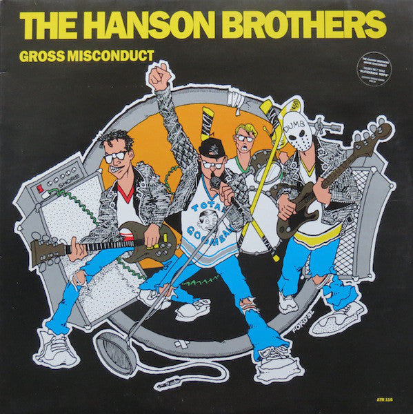 "The Hanson Brothers* - Gross Misconduct (LP, Album + 7"", Single) - USED"