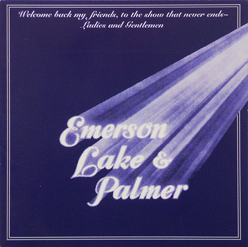 Emerson, Lake & Palmer - Welcome Back My Friends, To The Show That Never Ends (2xCD, Album, RE, RP) - USED
