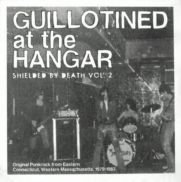 Various - Guillotined At The Hangar: Shielded By Death, Vol. 2 (LP, Comp) - USED