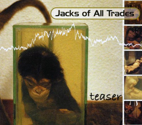 Jacks Of All Trades - Teaser (CD, EP) - USED