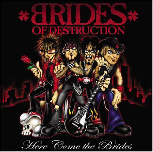 Brides Of Destruction - Here Come The Brides (LP, Album) - NEW