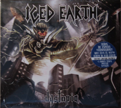 Iced Earth - Dystopia (CD, Album, Ltd, Num, Dig) - USED