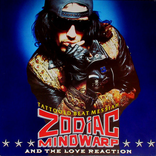 Zodiac Mindwarp And The Love Reaction - Tattooed Beat Messiah (LP, Album) - USED