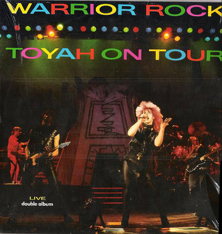 Toyah - Warrior Rock (2xLP, Gat) - USED
