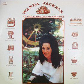 Wanda Jackson - By The Time I Get To Phoenix (LP, Comp, RE) - USED