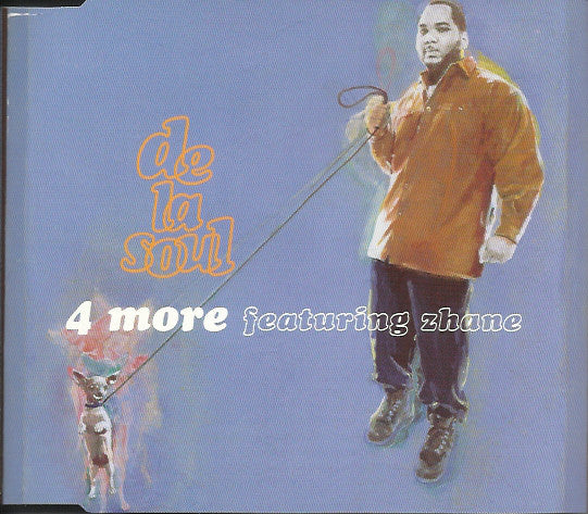 De La Soul Featuring Zhane* - 4 More (CD, Single) - USED