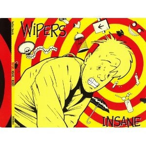Wipers - Insane / Resist (CD, Single) - USED