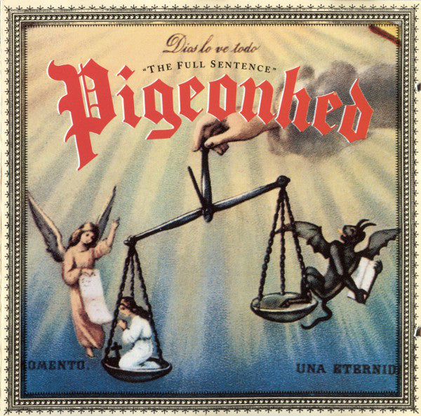 Pigeonhed - The Full Sentence (CD, Album) - USED