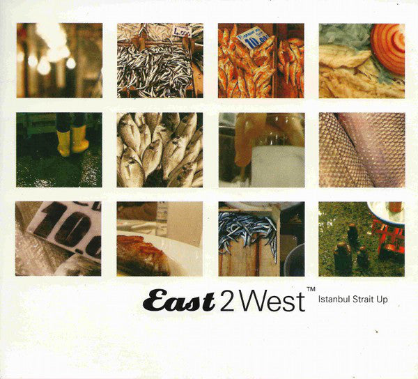 Various - East 2 West - Istanbul Strait Up (CD, Comp) - USED