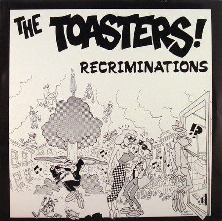 "The Toasters - Recriminations (12"", EP, RE) - USED"