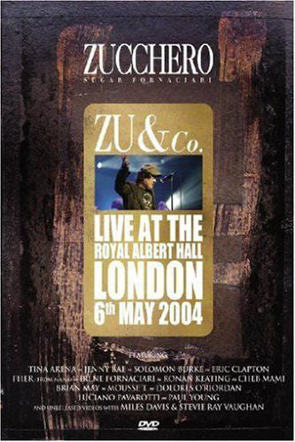 Zucchero - Live At The Royal Albert Hall London 6th May 2004 (DVD-V, PAL) - USED