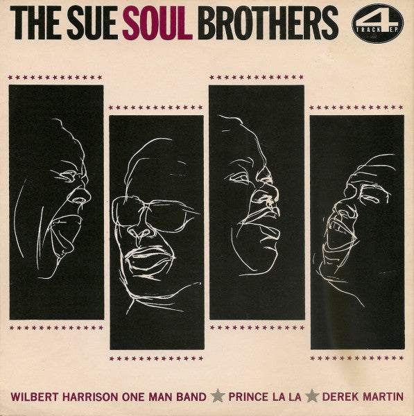 "Various - The Sue Soul Brothers (7"", EP, Comp, Mono) - USED"
