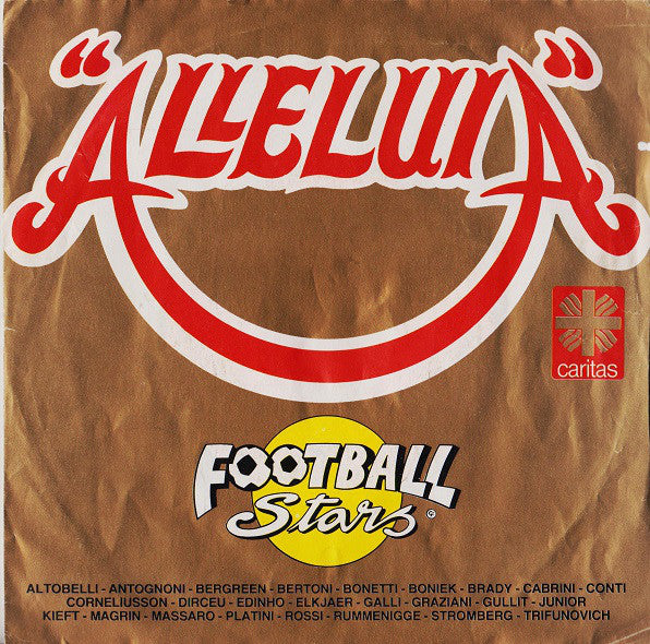 "Football Stars - Alleluia (7"") - USED"