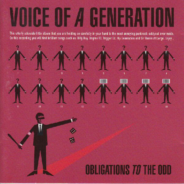 Voice Of A Generation - Obligations To The Odd (CD, Album) - USED