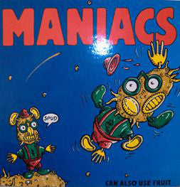 Maniacs (6) - Can Also Use Fruit (LP, Album) - USED