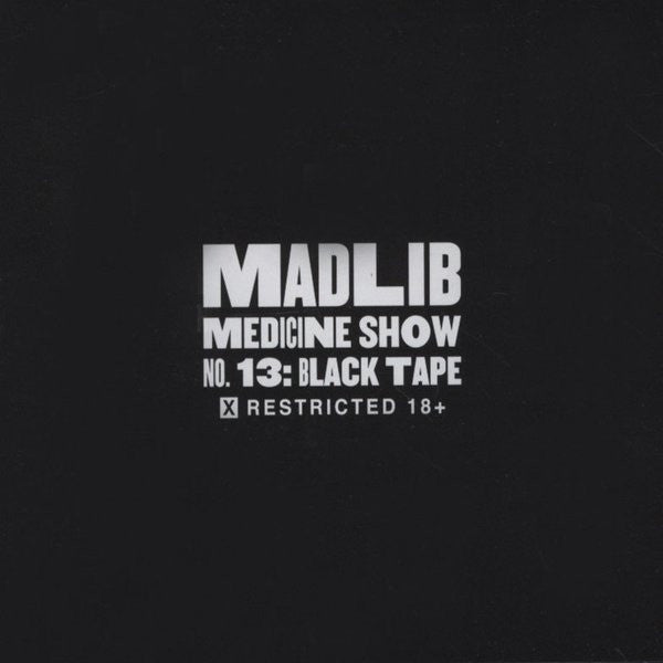 Madlib - Black Tape (CD, Album) - NEW