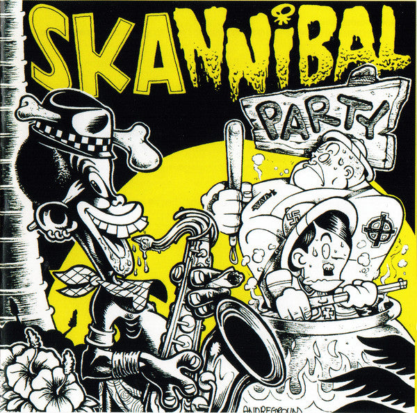 Various - Skannibal Party (CD, Comp) - NEW