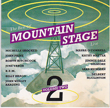Various - The Best Of Mountain Stage Live - Volume Two (CD, Comp) - USED