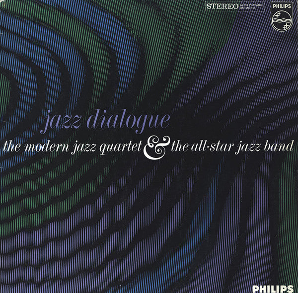 The Modern Jazz Quartet & The All-Star Jazz Band - Jazz Dialogue (LP, Album) - USED