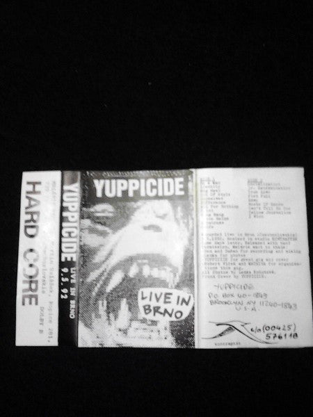 Yuppicide - Live In Brno (Cass, Album) - USED