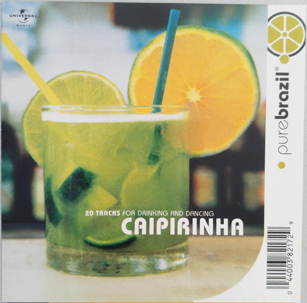 Various - Pure Brazil : Caipirinha (CD, Album, Comp) - USED