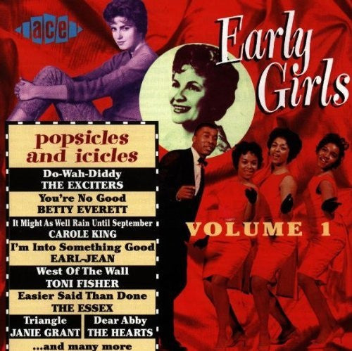 Various - Early Girls Volume 1 (Popsicles & Icicles) (CD, Comp) - USED