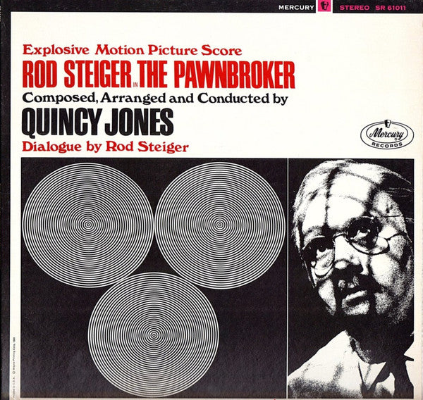 Quincy Jones And His Orchestra - The Pawnbroker (Explosive Motion Picture Score) (LP, Album) - USED