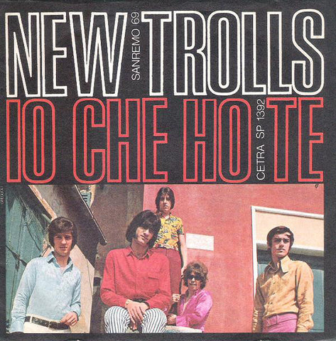 "New Trolls - Io Che Ho Te (7"", Single) - USED"