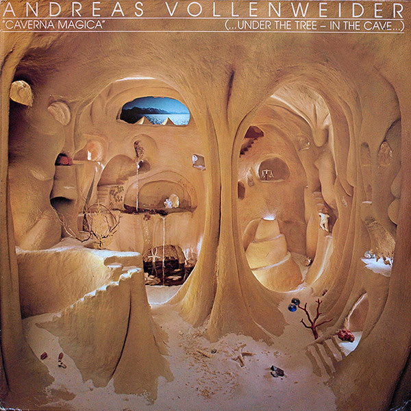 Andreas Vollenweider - Caverna Magica (...Under The Tree - In The Cave...) (LP, Album, RP, Hal) - USED