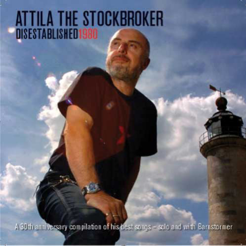 Attila The Stockbroker - Disestablished 1980 (CD, Comp) - NEW