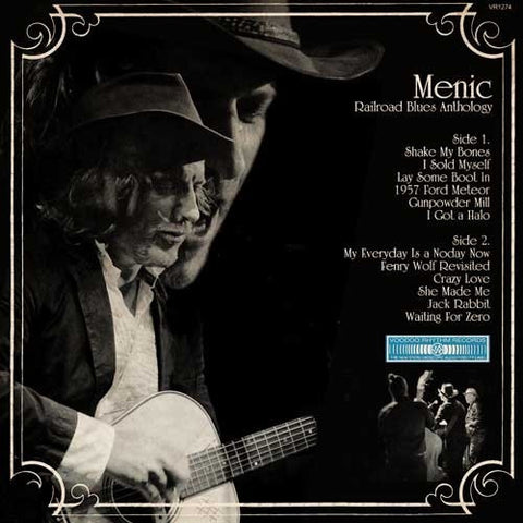 Menic* - Railroad Blues Anthology (CD, Album) - NEW