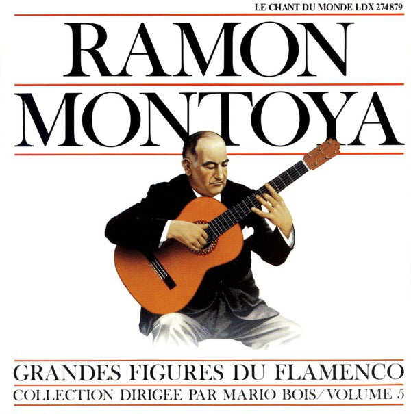 Ramon Montoya* - Grandes Figures Du Flamenco Volume 5 (LP, Comp) - USED