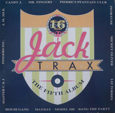 Various - Jack Trax - The Fifth Album (2xLP, Comp) - USED